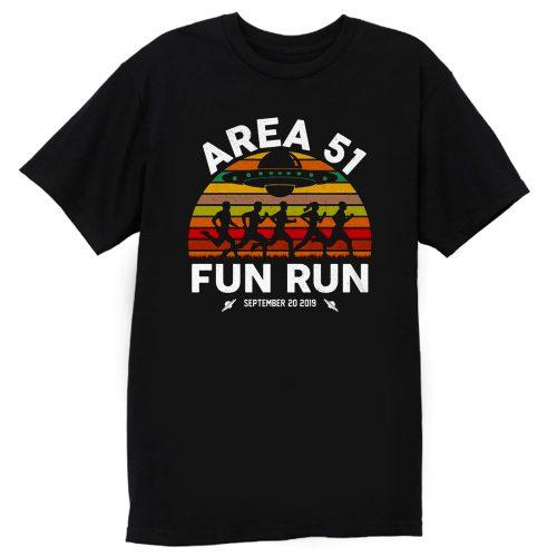 Fun Run Area 51 T Shirt