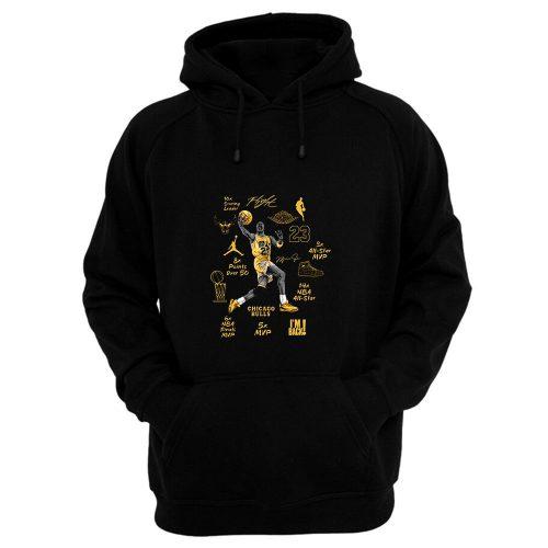 Michael Jordan Air Jordan 6 DMP Match Hoodie