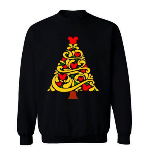 Mickey Christmas Sweatshirt