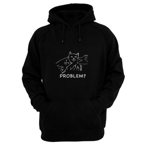 Middle finger cat Hoodie