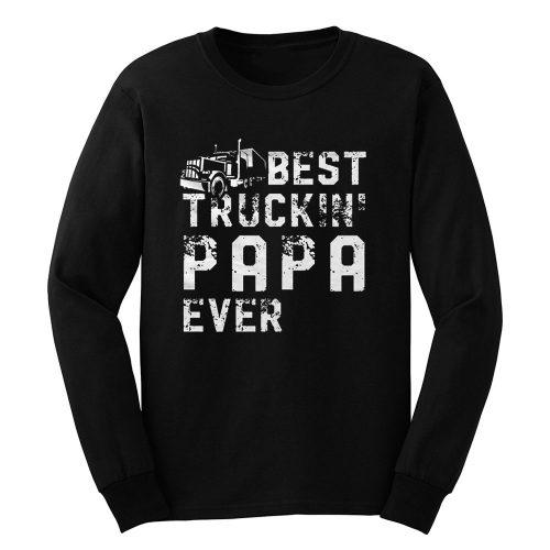 Papa Driver Truck Long Sleeve