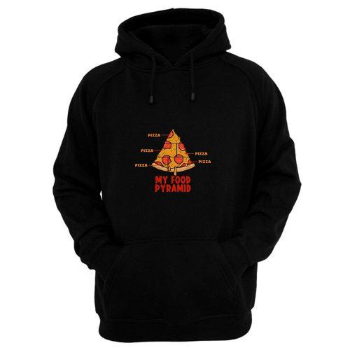 Pizza My Food Pyramid Hoodie