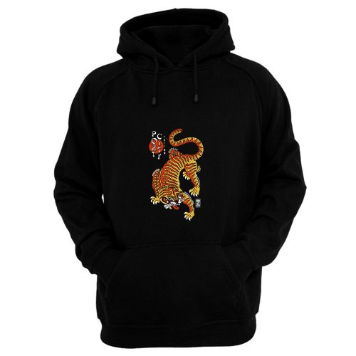Port City Chinese Tiger Hoodie