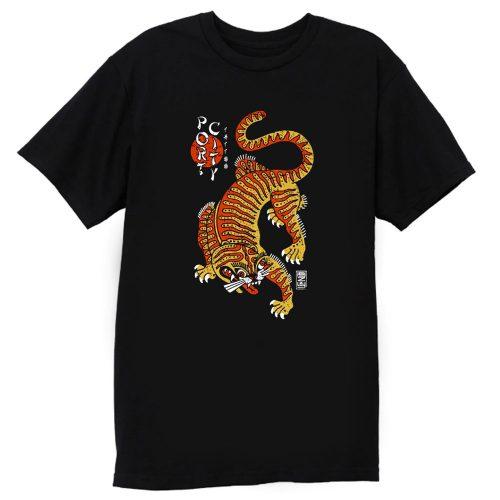 Port City Chinese Tiger T Shirt