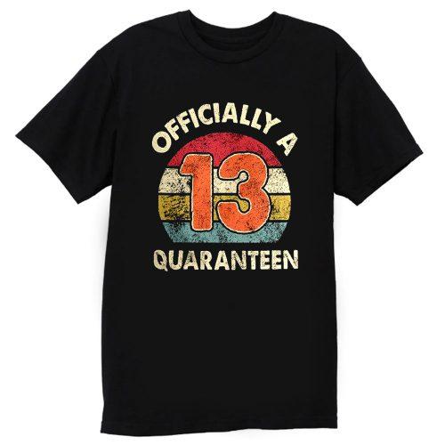 Social Distancing Officially A 13th Quaranteen T Shirt