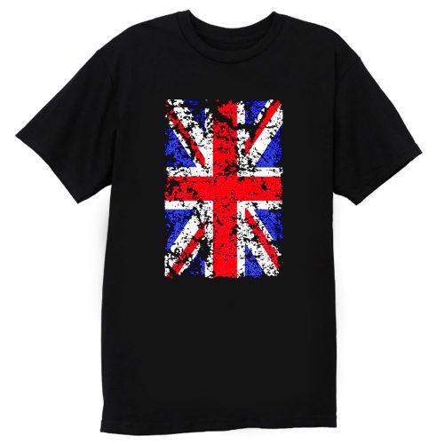 Union Jack Vintage Flag T Shirt