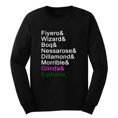 Wicked the musical Long Sleeve