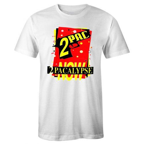 2PACALYPSE NOW Interscope Tnt Records Vtg 90s T Shirt