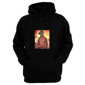 2pac Tupac Sakur Cartoon Rapper Hoodie