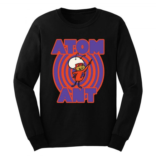 60s Hanna Barbera Cartoon Classic Atom Ant Long Sleeve