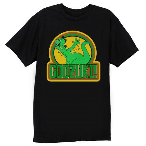 70s Cartoon Classic Godzilla Godzuki T Shirt