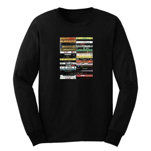 80s Cassete Retro Long Sleeve