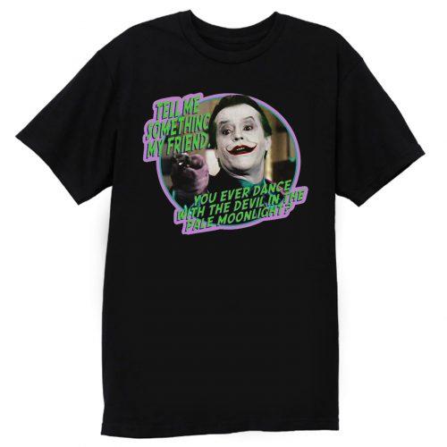 80s Classic Batman The Joker Dance With the Devil T Shirt