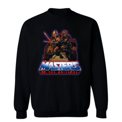 80s Classic Masters of the Universe He Man And Blade Sweatshirt