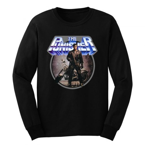 80s Comic Classic The Punisher Long Sleeve