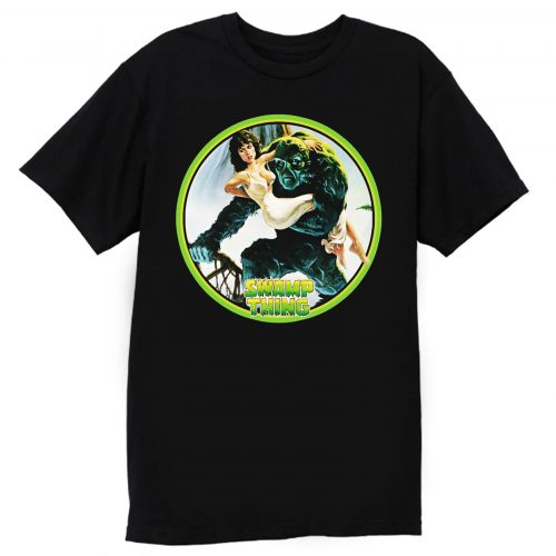 80s Wes Craven Classic Swamp Thing T Shirt