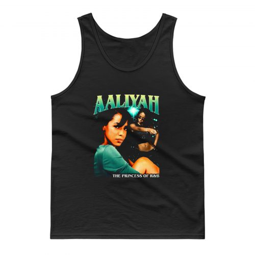 Aaliyah Cover Tour Vintage Tank Top