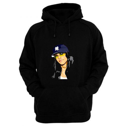 Aaliyah New York Trucker Caps Hoodie