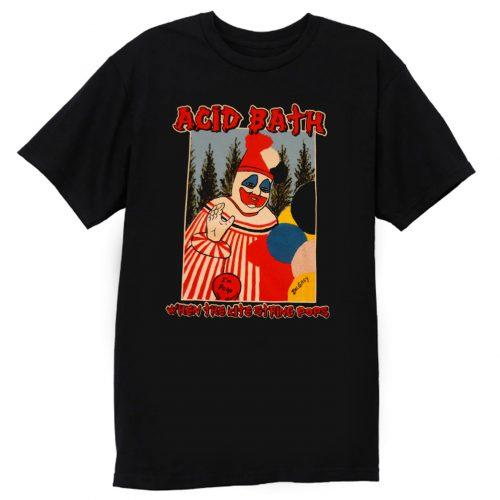 American Metal Band ACID BATH When The Kite String T Shirt