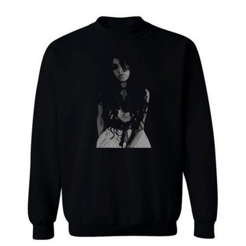 Amy Winehouse Pose Sweatshirt
