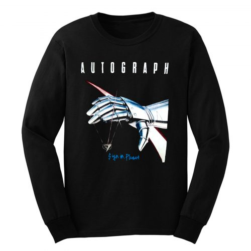 Autograph Sign In Please Long Sleeve
