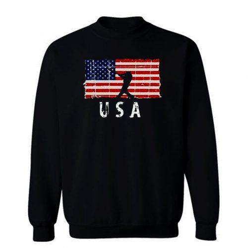 Baseball Usa Sweatshirt