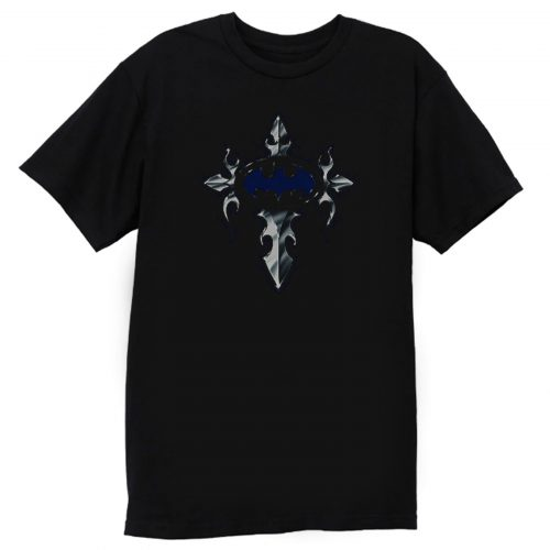 Batman Gothic Steel Logo DC Comics T Shirt