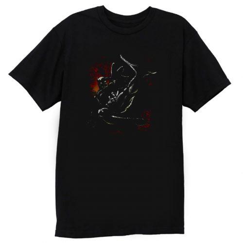 Batman Kick Swing DC Comics T Shirt