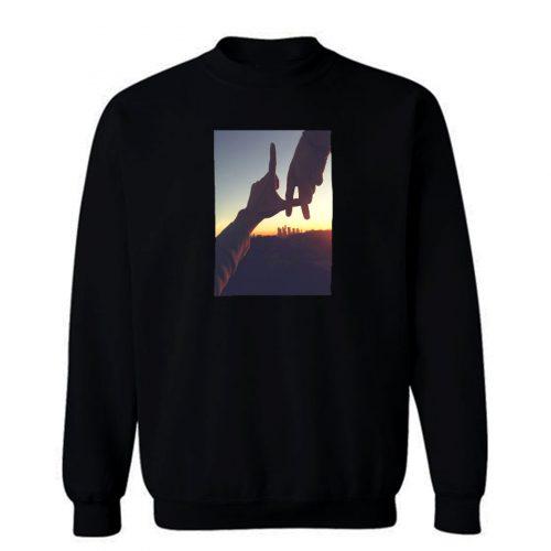 Beauty Of Sunset Los Angeles Sweatshirt