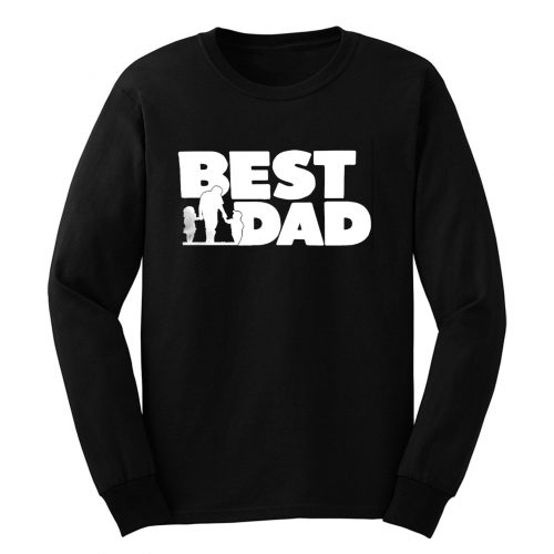 Best Dad Fathers And The Childern Long Sleeve