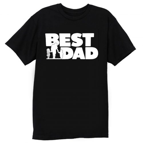 Best Dad Fathers And The Childern T Shirt