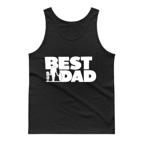 Best Dad Fathers And The Childern Tank Top