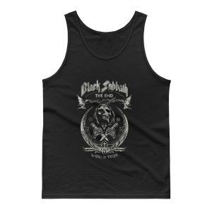 Black Sabbath The End World Tour Metal Band Tank Top