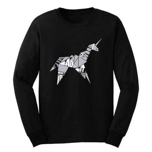 Blade Runner Origami Unicorn Long Sleeve