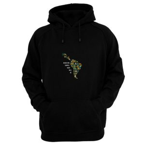 Book Map Education Shape What Will Be Hoodie