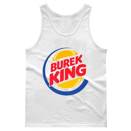 Burek Balkan Style Original Vintage Burgerking Parody Tank Top
