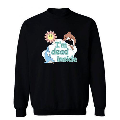 Cheerful Dolphins and Sunshine Sweatshirt
