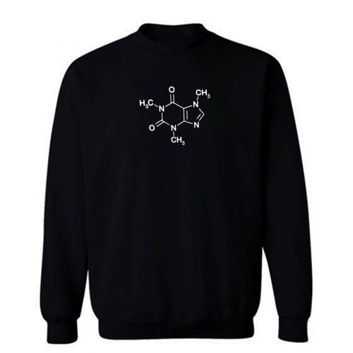 Coffee Molecul Coffee Lover Sweatshirt