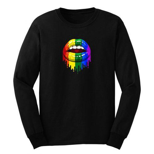 Colour Lip LGBT Long Sleeve