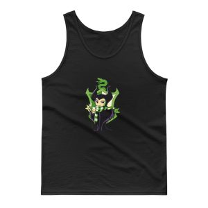 Cunning And Ambitions Cute Magician Tank Top