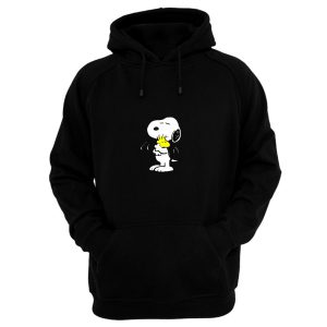 Cute Peanut Hug Snoopy Hoodie