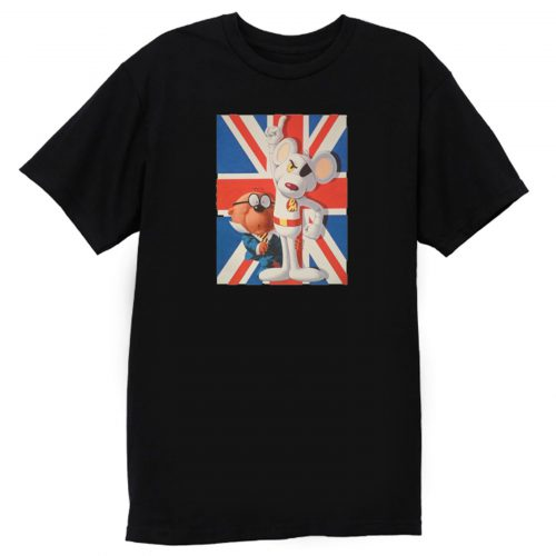 Danger Mouse British Cartoon T Shirt