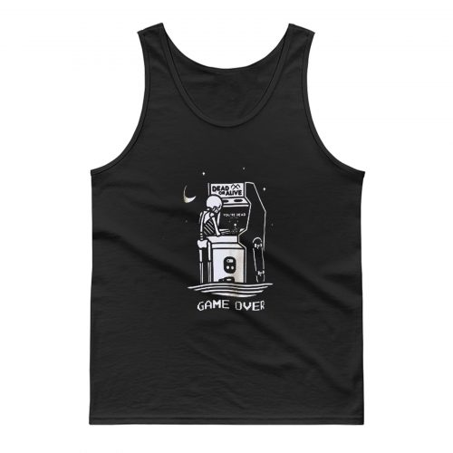 Dead Or Alive Skull Game Over Tank Top