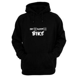 Eat Sleep Bike Hoodie