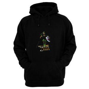 Elf Green Warrior Dont Call Me Zelda Anime Hoodie
