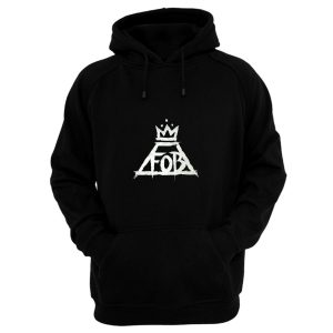 Fall Out Boy Fob Crown Rock Band Hoodie
