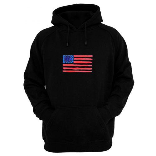 Flag Monogram Hoodie