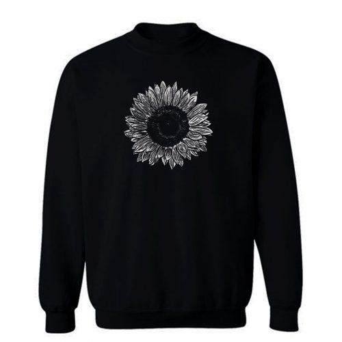 Flower Sketch Sweatshirt