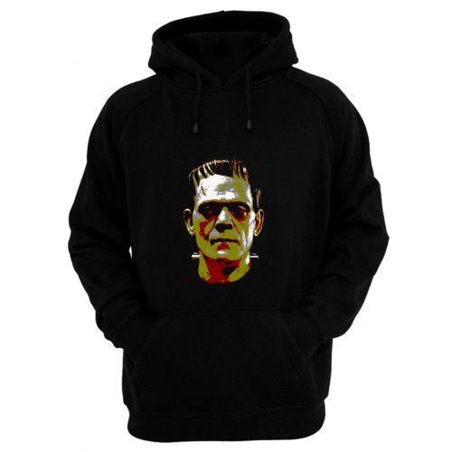 Frankenstein Face Halloween Horror Movie Hoodie