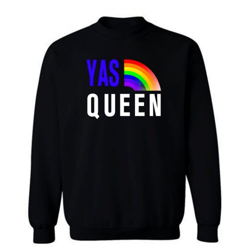 Gay Pride LGBTQ Flag Retro Sweatshirt